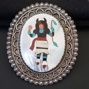 Navajo Brooch